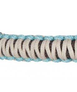 HKM Rope Halter Arizona Brown/Turquoise