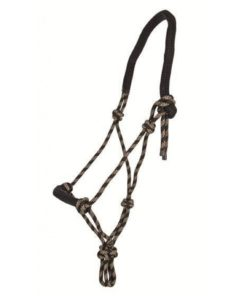 HKM Rope Halter with Padding