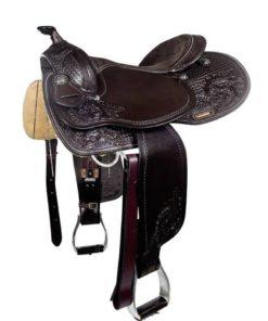 HKM Saddle Dallas Dark Brown