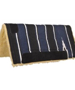 HKM Saddle Pad with Teddy Filling Deep Blue