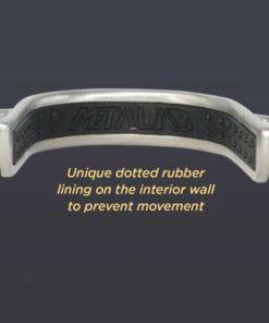 Metalab Anti-Slip Rubber Comfort - Barrel Racing Bumper Spurs