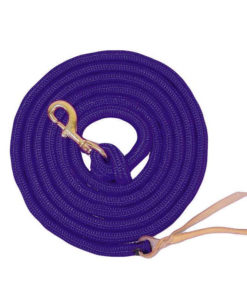 """Equi-Sky 5/8"""" PP Cowboy Lead With Bolt Snap"""