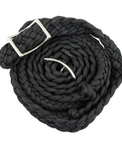 Equi-Sky Solid Colors Braided Barrel Reins