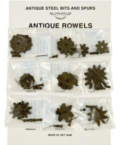 Metalab Antique Rowel Card 9 Pairs