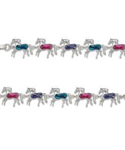 AWST International Paua Shell Horse Bracelet