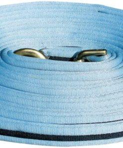 Harrys Horse Super Soft Lunge Line Blue and Navy